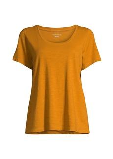 Eileen Fisher Scoopneck Organic Cotton T-Shirt