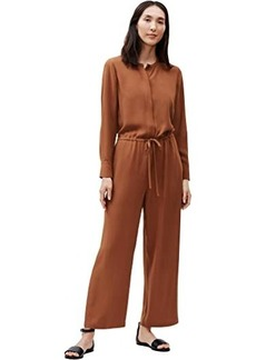 Eileen Fisher Semi Wide Ankle Length Jumpsuit