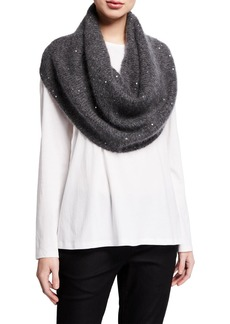 Eileen Fisher Sequin Infinity Scarf