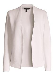 Eileen Fisher Shape Silk & Organic Cotton Cardigan