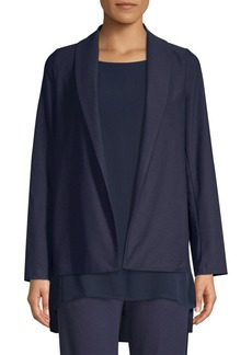 Eileen Fisher Shawl Collar Jacket