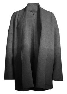Eileen Fisher Shawl Collar Kimono Wool Jacket