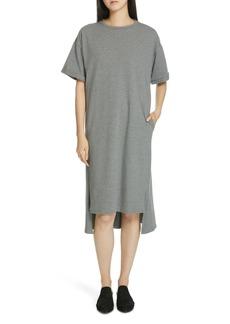 Eileen Fisher Short Sleeve T-Shirt Dress (Petite)