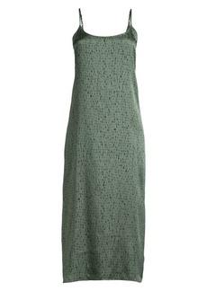 Eileen Fisher Silk & Organic Cotton Slip Dress