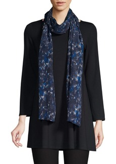 Eileen Fisher Silk Frayed Wrap