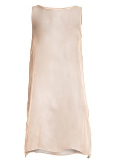 Eileen Fisher Silk Organza Slip Dress