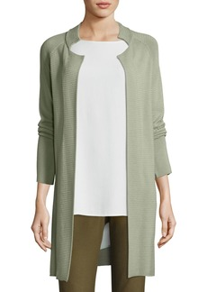 Eileen Fisher Sleek Tencel Knit Jacket