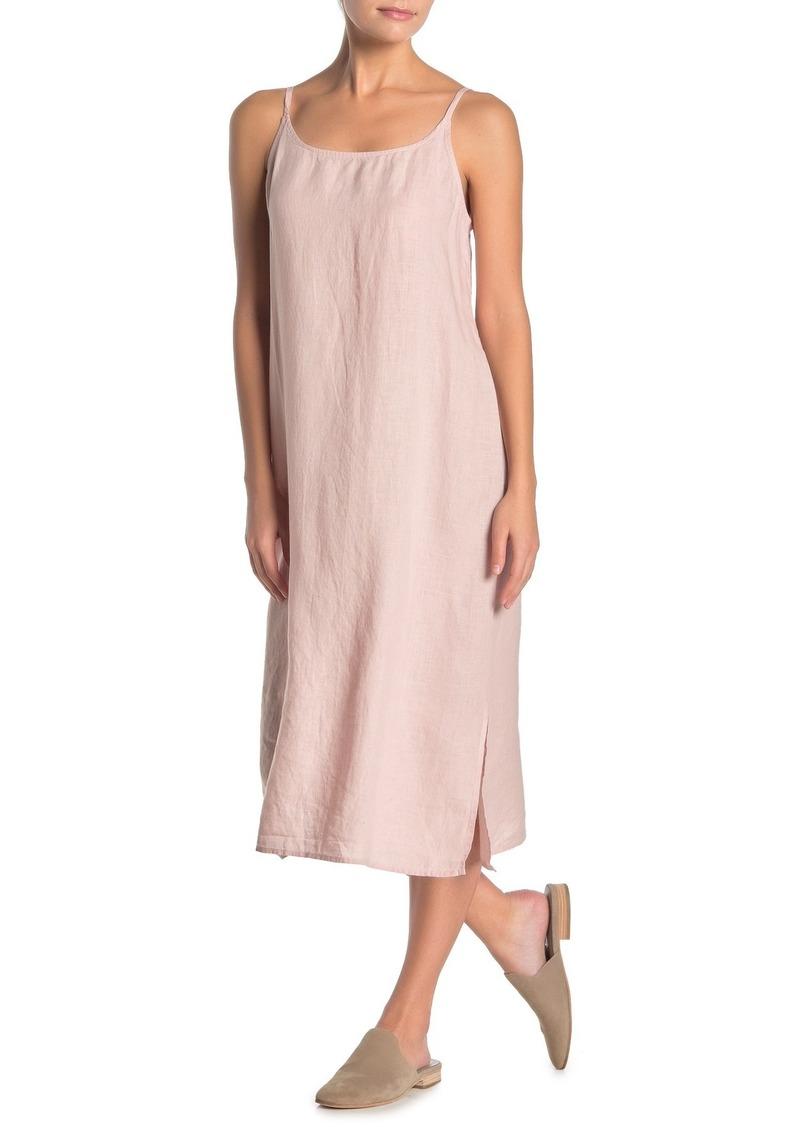 Eileen Fisher Sleeveless Organic Linen Dress