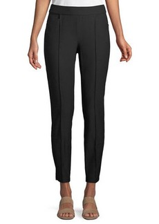 Eileen Fisher Slim Ankle Pants w/ Pintucks