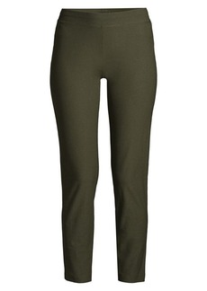 Eileen Fisher Slim-Fit Stretch Ankle Pants