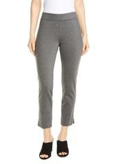 Eileen Fisher Slim Vented Crop Pants (Regular & Petite)