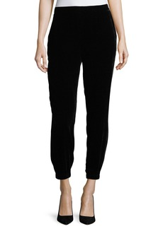 Eileen Fisher Slouchy Velvet Ankle Pants