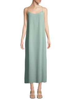 Eileen Fisher Solid Knit Slip Dress