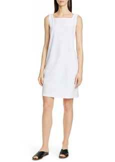 Eileen Fisher Square Neck Shift Dress
