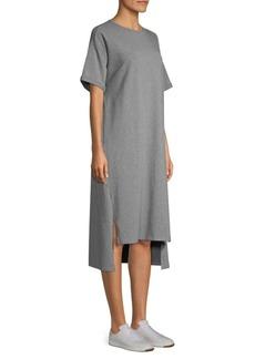 Eileen Fisher Step Hem Midi T-Shirt Dress