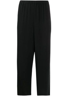 Eileen Fisher straight leg cropped trousers