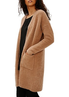 Eileen Fisher Straight Pocket Wool Cardigan