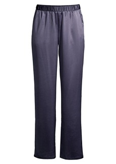 Eileen Fisher Straight Satin Pants