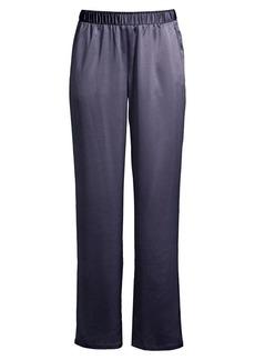 Eileen Fisher Straight Satin Pants