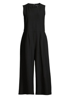 Eileen Fisher Stretch Crepe Jumpsuit