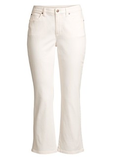 Eileen Fisher Stretch Crop Flare Jeans