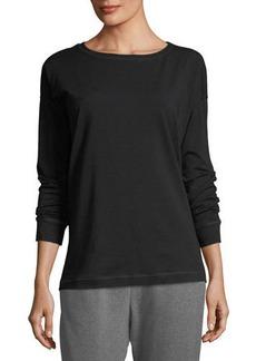 Eileen Fisher Stretch Jersey Sweatshirt Top