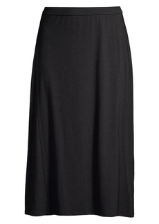 Eileen Fisher Stretch Midi Skirt