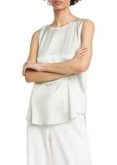 Eileen Fisher Stretch Silk Blend Tank