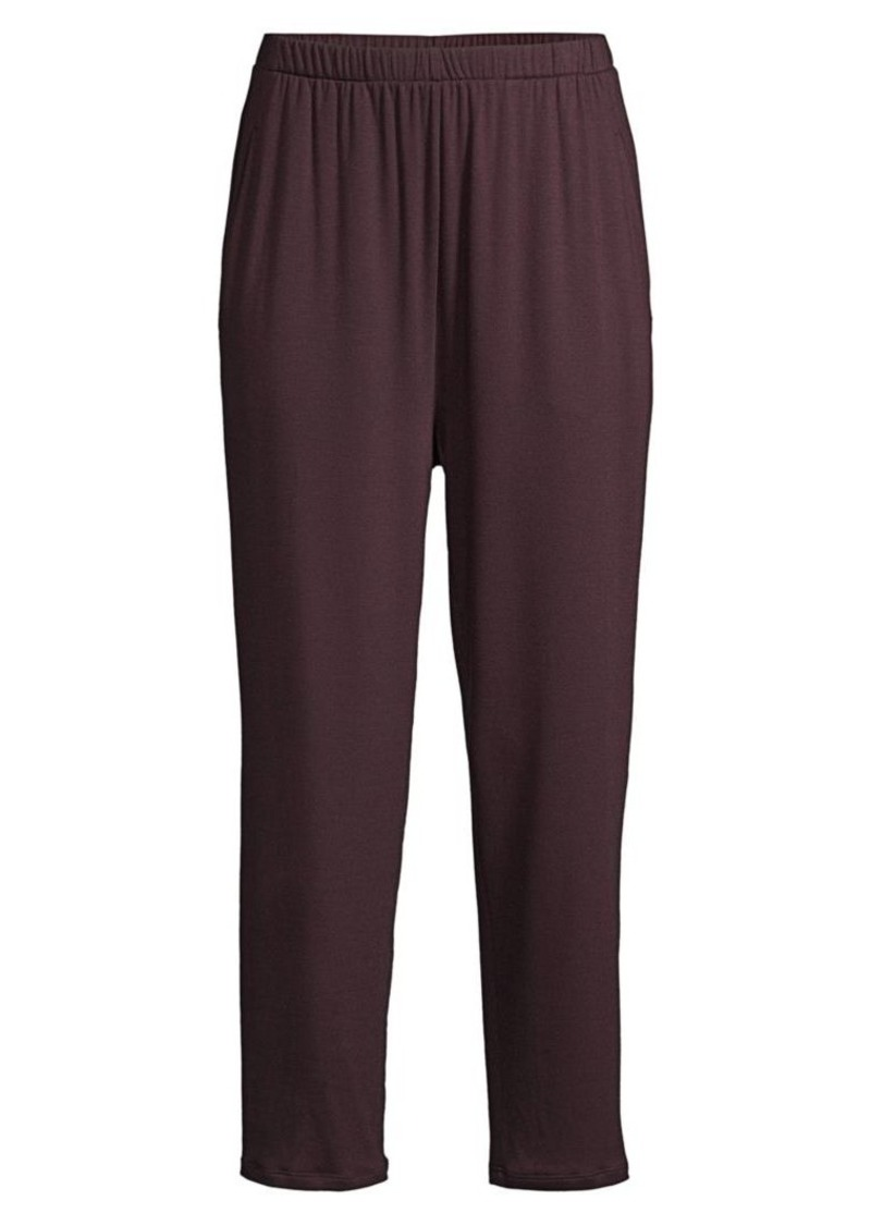 Eileen Fisher Stretch Terry Slouchy Ankle Pants