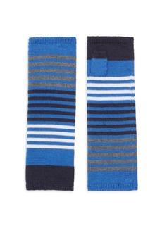 Eileen Fisher Stripe Fingerless Gloves