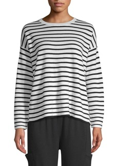Eileen Fisher Striped Wool Top