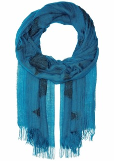 Eileen Fisher Tencel Organic Cotton Diamond Scarf