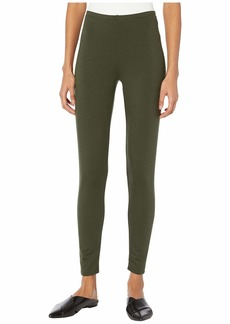 Eileen Fisher Tencel Stretch Terry Ankle Leggings