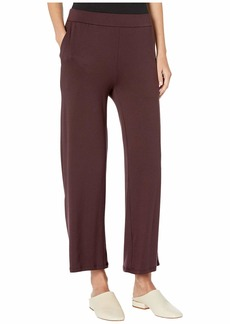 Eileen Fisher Tencel Stretch Terry Ankle Length Pants
