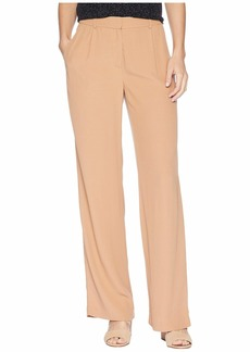 Eileen Fisher Tencel Viscose Crepe Straight Trousers