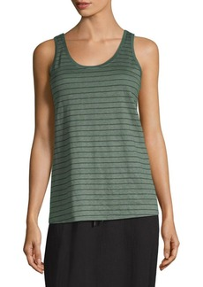 Eileen Fisher Thin Stripe Jersey Tank
