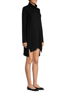 Eileen Fisher Turtleneck Merino Wool Sweater Dress