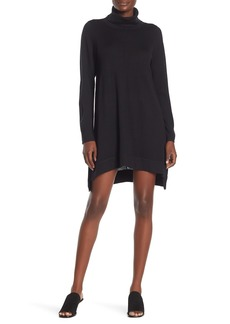 Eileen Fisher Turtleneck Merino Wool Sweater Dress (Petite)