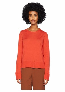 Eileen Fisher Ultrafine Merino Box Top