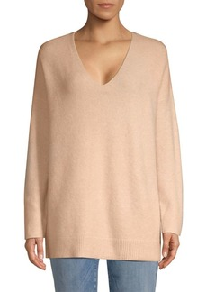 Eileen Fisher V-Neck Boucle Sweater
