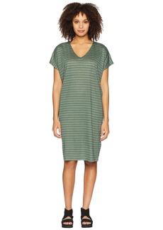 Eileen Fisher V-Neck Knit Linen Dress