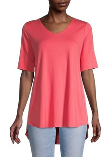 Eileen Fisher V-Neck Soft Tunic