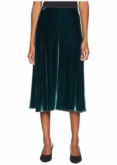 Eileen Fisher Velvet Bias Skirt