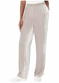 Eileen Fisher Velvet Straight Pants