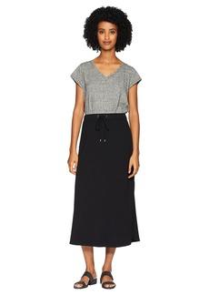 Eileen Fisher Viscose Jersey Drawstring Skirt