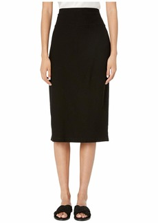 Eileen Fisher Washable Stretch Crepe Mid Slim Skirt