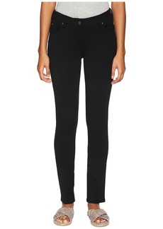 Eileen Fisher Washable Stretch Tencel Ponte Skinny Jeans in Black