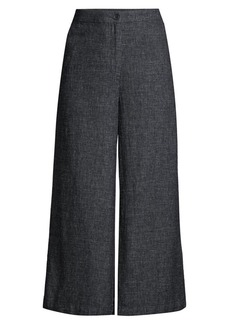 Eileen Fisher Wide Leg Cropped Pants