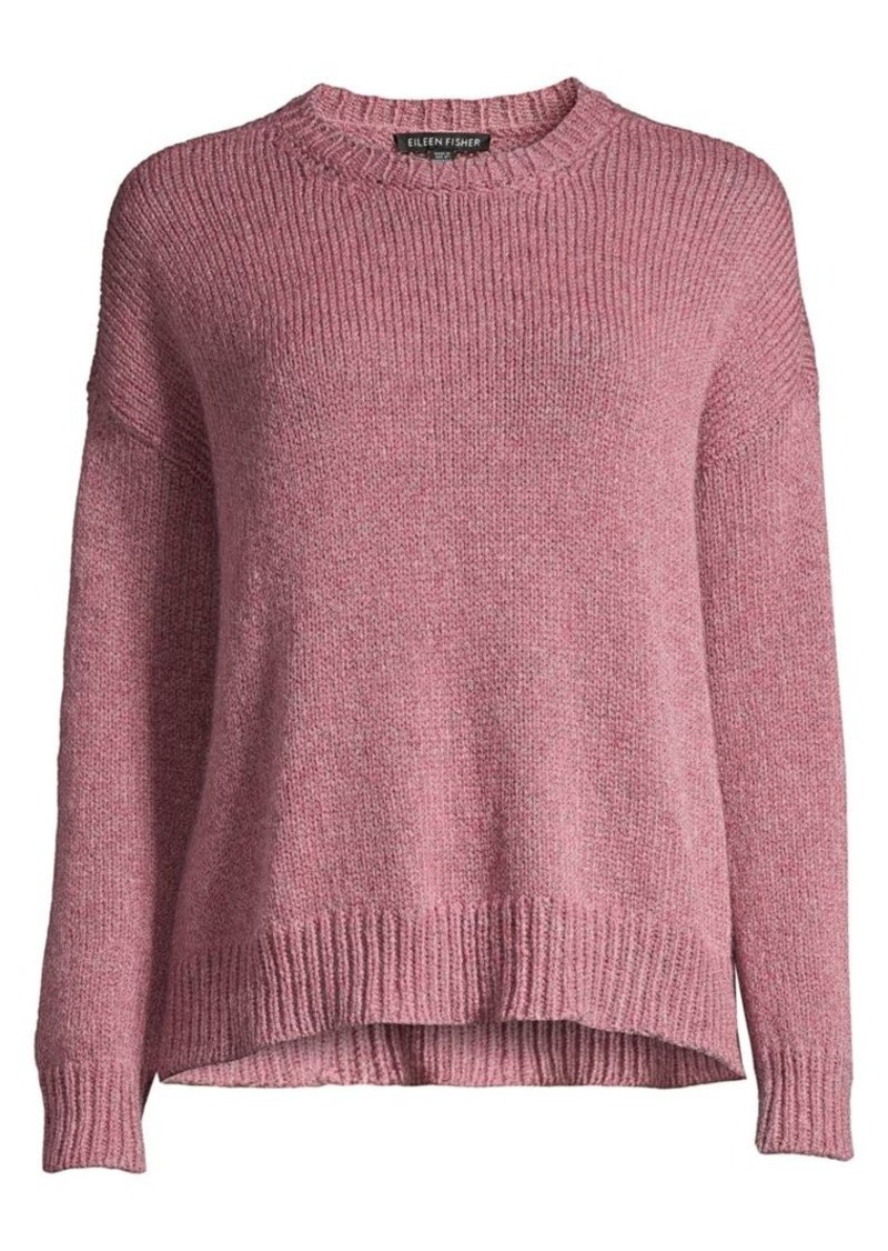 Eileen Fisher Wool & Mohair-Blend Sweater