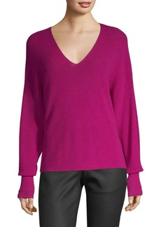 Eileen Fisher Wool V-Neck Top
